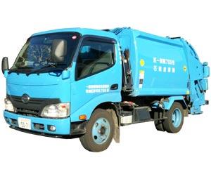 廃棄物収集運搬車両