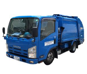 産業廃棄物収集運搬車 2tパッカー車