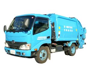 一般廃棄物収集運搬車 2tパッカー車