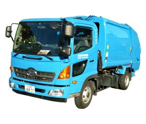 産業廃棄物収集運搬車 4tパッカー車