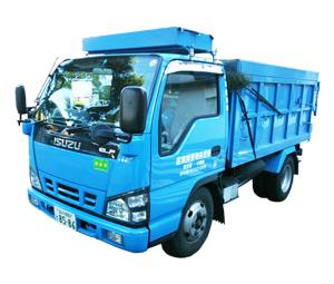 産業廃棄物収集運搬車 2tダンプ