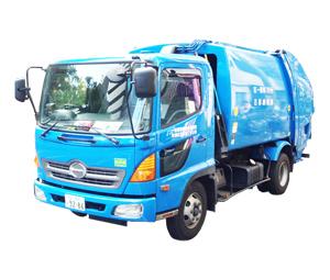 一般廃棄物収集運搬車 4tパッカー車